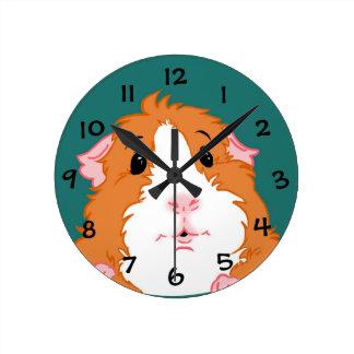 Adorable Guinea Pig Clock