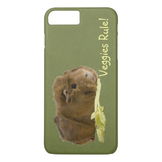 Adorable Guinea Pig Eating Celery Photography iPhone 8 Plus/7 Plus Case