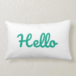 Adorable Hello Throw pillow