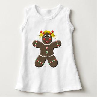 Adorable Holiday Gingerbread Girl Shirt