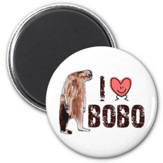 Adorable!  I LOVE <3 BOBO design - Finding Bigfoot 6 Cm Round Magnet
