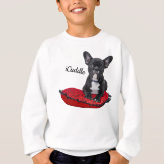 Adorable iCuddle French Bulldog Sweatshirt