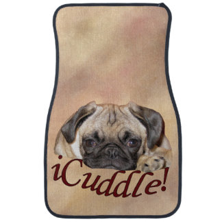 Adorable iCuddle Pug Puppy Car Mat