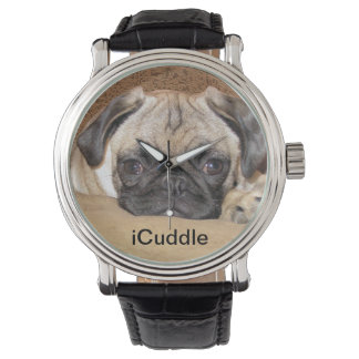 Adorable iCuddle Pug Puppy Watch