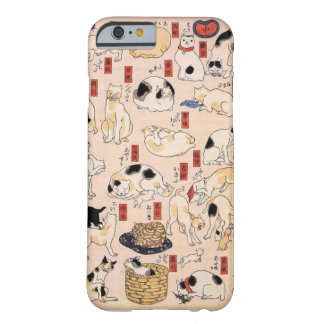 Adorable Japanese Cat Phone Case iPhone 6 Barely There iPhone 6 Case