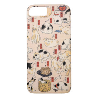 Adorable Japanese Cat Phone Case iPhone 7