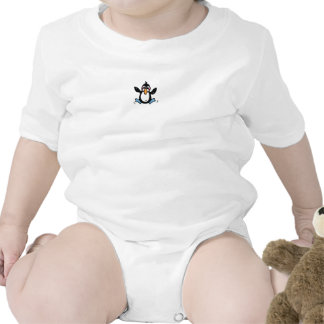 Adorable Jumping Penguin Rompers