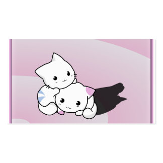Adorable Kittens Business Card