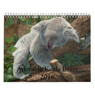 Adorable Koala Bears 2016 Calendar