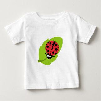Adorable Ladybug on a Leaf Infant T-Shirt