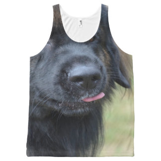 Adorable Leonberger All-Over Print Tank Top