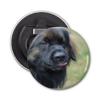 Adorable Leonberger Bottle Opener
