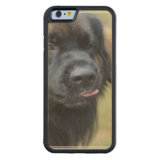 Adorable Leonberger Maple iPhone 6 Bumper Case