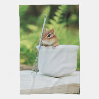 Adorable Little Chef Chipmunk Kitchen Towels