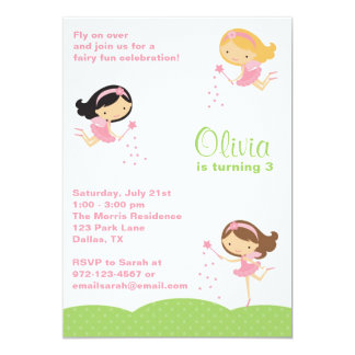 Adorable Little Fairies Invitations