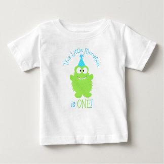 Adorable Little Monster First Birthday T-Shirt