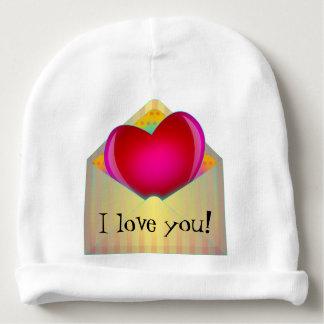 Adorable LOVE Design Baby Beanie