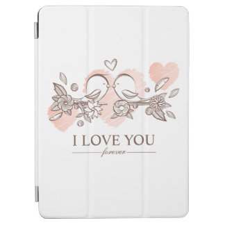 Adorable Lovebirds In Love | Ipad Air Case iPad Air Cover