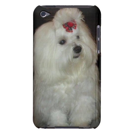 Adorable Maltese Dog Case-Mate iPod Touch Case
