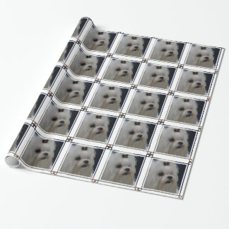 Adorable Maltese Wrapping Paper