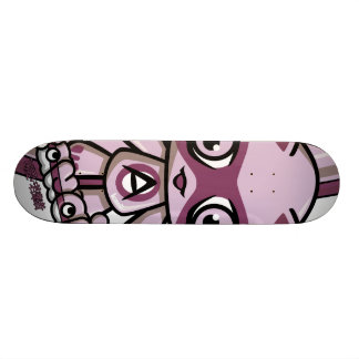 Adorable Mascot Skate Board Deck
