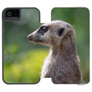 Adorable Meerkat Incipio Watson™ iPhone 5 Wallet Case