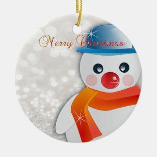 Adorable Merry Christmas,Christmas Tree,Snowman Christmas Ornament