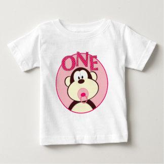 Adorable Monkey 1st Birthday T-Shirt