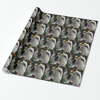 Adorable Papillion Wrapping Paper