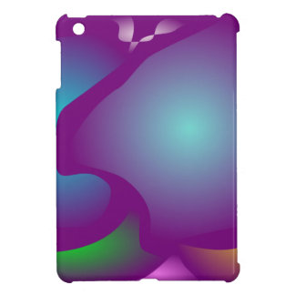 Adorable Particles Art Cover For The iPad Mini