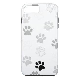 Adorable Paw Print Pattern iPhone 8 Plus/7 Plus Case