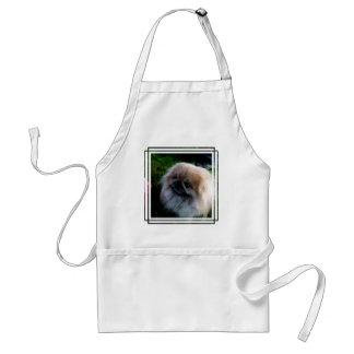 Adorable Pekingese Puppy Standard Apron