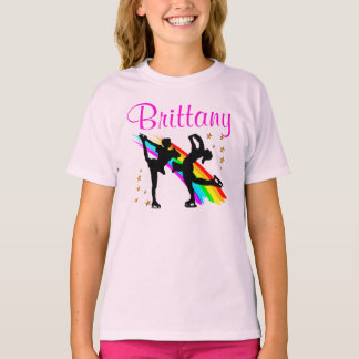 ADORABLE PERSONALIZED FIGURE SKATING APPAREL T-Shirt