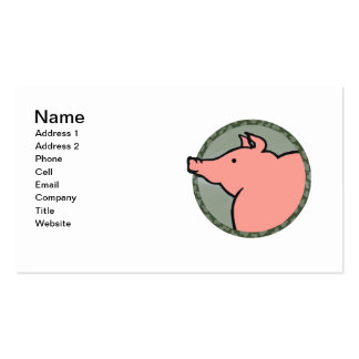 Adorable Pig Tees and Gifts Business Card