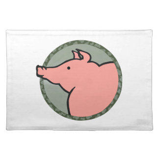 Adorable Pig Tees and Gifts Place Mat