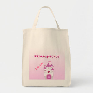 Adorable Pink Castle Mommy-to-Be Baby Shower Bags