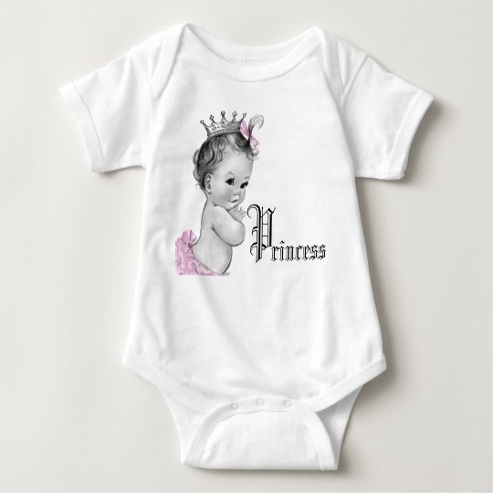 Adorable Pink Princess Baby Girl Shirts