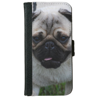 Adorable Pug iPhone 6 Wallet Case