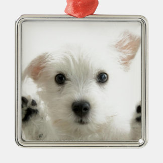Adorable Puppy Christmas Ornament