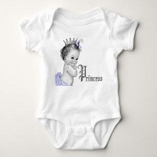 Adorable Purple Princess Baby Girl Shirts