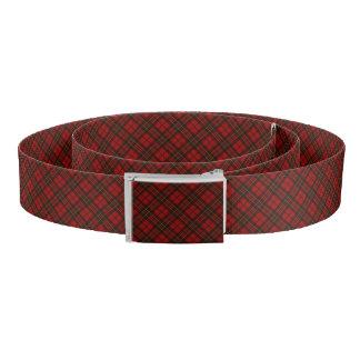 Adorable Red Christmas tartan Belt