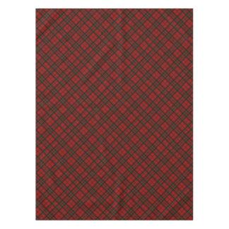 Adorable Red Christmas tartan Tablecloth