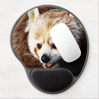adorable red panda gel mouse pad