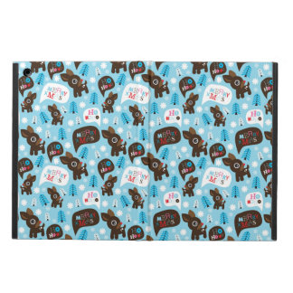 Adorable reindeer and Merry Christmas iPad Air Covers