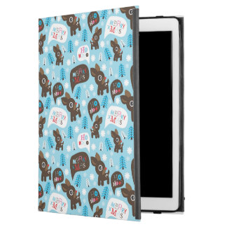 "Adorable reindeer and Merry Christmas iPad Pro 12.9"" Case"