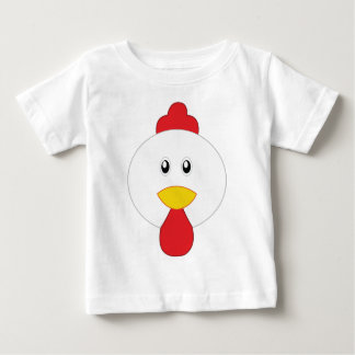 Adorable Rooster Little Zoo Baby T-Shirt