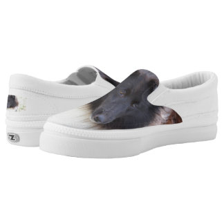 Adorable Sheltie Slip On Shoes