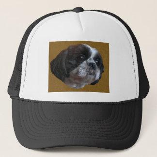 Adorable Shih tzu Rico Trucker Hat