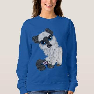 Adorable Siamese Fluffy Kitten Sweatshirt