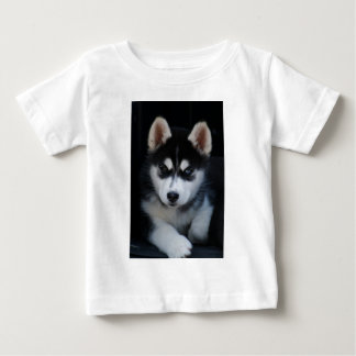 Adorable Siberian Husky Sled Dog Puppy Baby T-Shirt